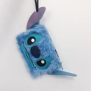 Loungefly + Disney - Lilo & Stitch fuzzy wristlet